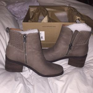 Brand new lucky brand booties. Size 9.5! Studded.